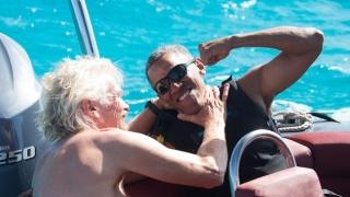 Барак Обама го удари на живот