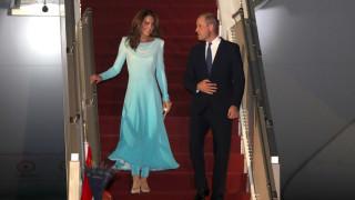 Как посрещнаха Уилям и Кейт в Пакистан