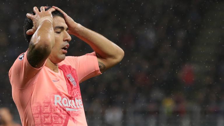 """Луис Суарес """"отговорен"""" за напускането на куп звезди в Барселона"""