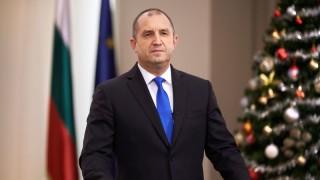 Румен Радев: Българите свикнаха да дишат въздуха на свободата