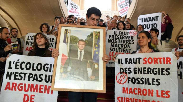 Френски съд глоби осем екоактивисти с по 500 евро за