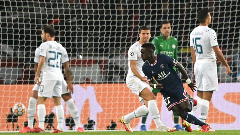 ПСЖ - Манчестър Сити, Лионел Меси вкара първия си гол за парижани!