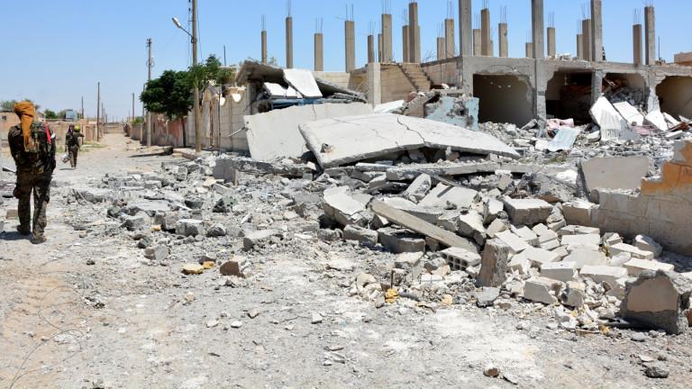 Русия обвини водената от САЩ коалиция във варварско бомбардиране на Ракка