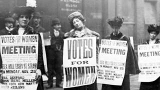 100 години от правото на жените да гласуват