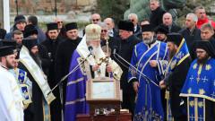 Патриарх Неофит освети бойните знамена на Българската армия