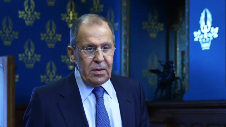 Лавров: Русия е готова на ответни мерки срещу САЩ, ако продължават с ескалацията