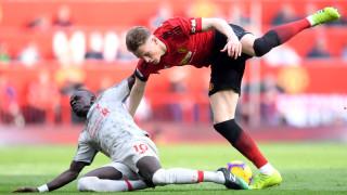 """Манчестър Юнайтед и Ливърпул се изпотрошиха, 0:0 на """"Олд Трафорд"""" в голямото английско дерби!"""