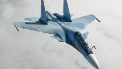Русия вдигна Су-30 срещу самолети на НАТО