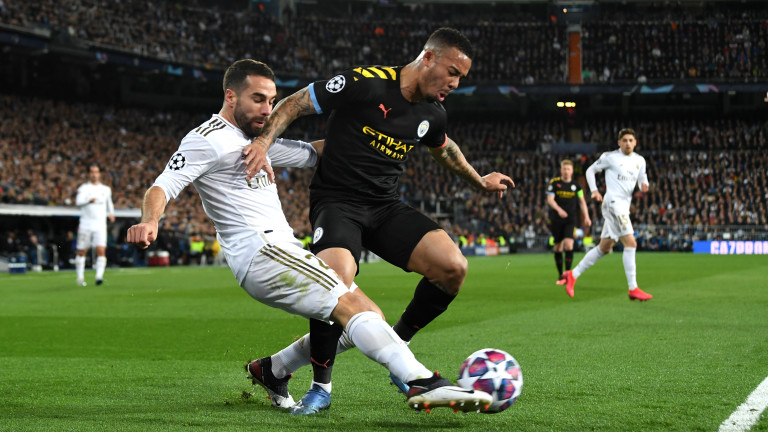Реал (Мадрид) - Манчестър Сити 1:2, Рамос е изгонен