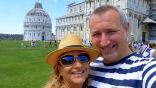 Нели Хаджийска се прехласна по Италия (СНИМКИ)