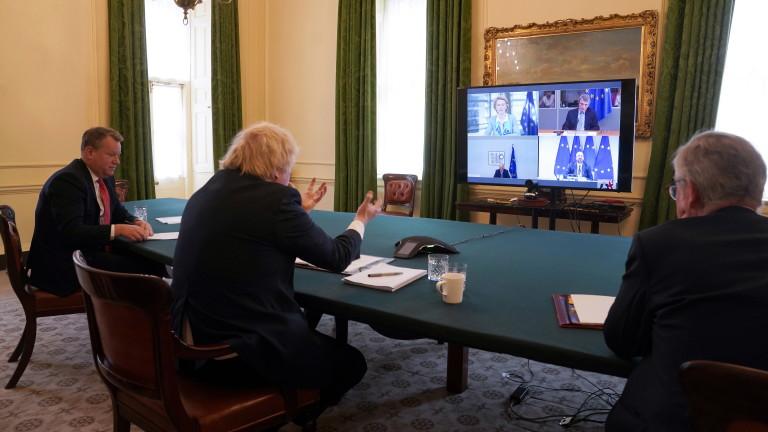 Джонсън и Фон дер Лайен се договориха да ускорят преговорите за Брекзит