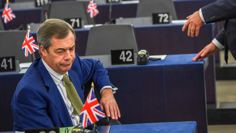 Фараж вижда в ЕС желание за империя, която започва Студена война със САЩ