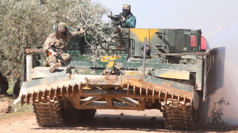 Сирийската армия отблъскват една след друга атаките на банди и