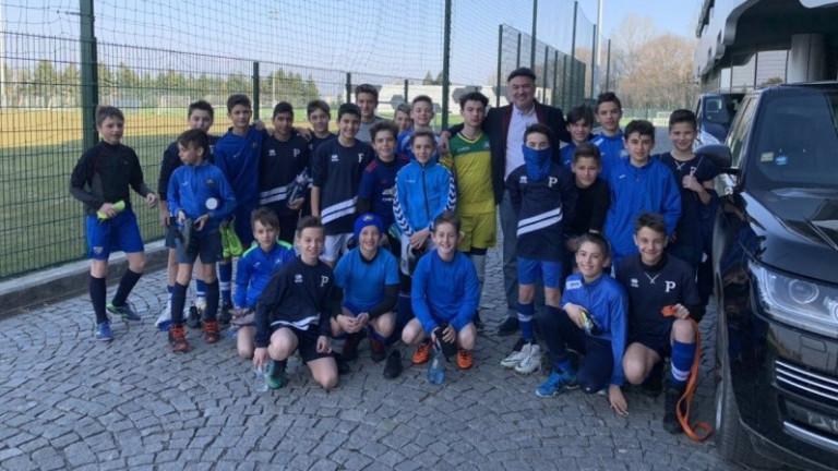 Борислав Михайлов поздрави млади таланти в националната футболна база