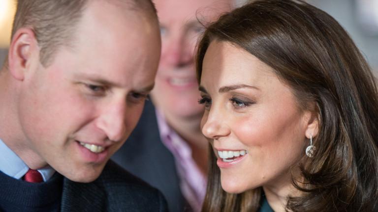 Семейството на херцога и херцогинята на Кеймбридж Уилям и Кейт