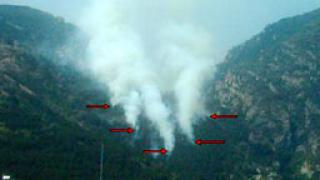 Продължава гасенето на пожара край Елхово