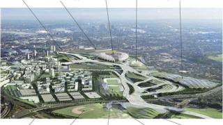 Проблем с началото на строителството на мега-стадион в Лондон!