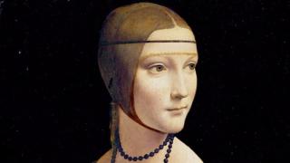 """Полското правителство придоби легендарната творба на Леонардо """"Дамата с хермелина"""""""