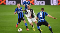 """Ювентус посече Интер в дербито на Италия и се върна на върха в Серия """"А"""""""