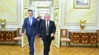 Асад увери Путин, че е готов да спази примирието