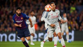 Барселона - Ливърпул 3:0, (Развой на срещата по минути)