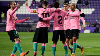 Барселона прегази Валядолид и се върна към победите в Ла Лига