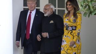 Сътрудничеството, търговията и климатичните промени обсъждат Тръмп и Моди