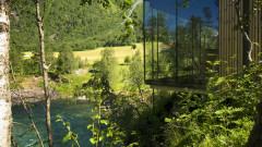 Първият ландшафтен хотел в Европа