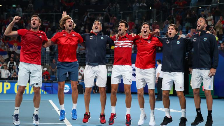 Отборът на Сърбия успя да спечели първото издание на ATP