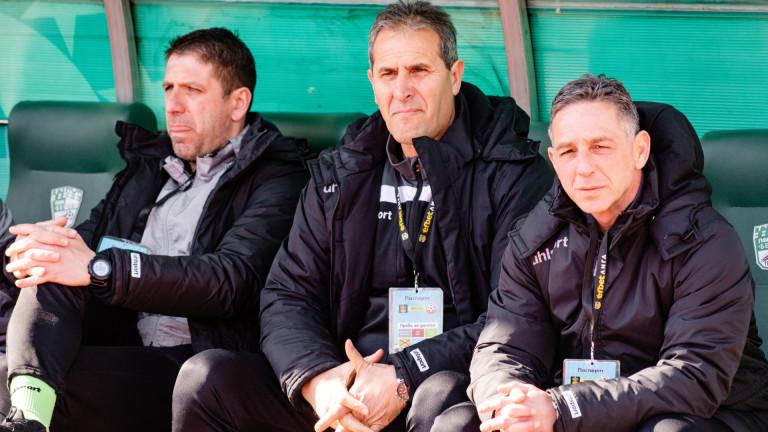Димитър Димитров-Херо вече не е треньор на Берое