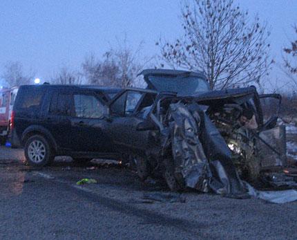 Две жертви след челен сблъсък край Ново село