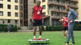 Каранга е здрав, но тренира индивидуално