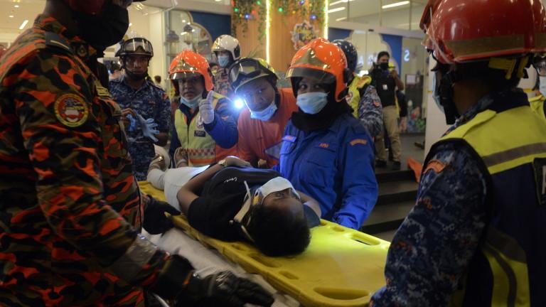 Повече от 200 души са били ранени при катастрофа в