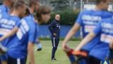 Тежки тренировки за Левски в Правец, чужденец се присъедини към тима