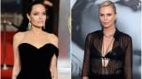 Анджелина Джоли, Чарлийз Терон и какви са отношенията между двете актриси