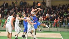 Левски Лукойл победи Балкан, този път само една бутилка полетя към игрището