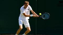 Даниил Медведев е първият, който спечели мач в новия формат на тениса