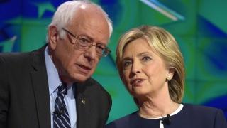 Никой не харесва Бърни Сандърс, вярва Хилари Клинтън