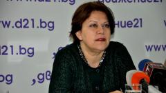 Борисов си избра подвластен кандидат, който няма да се еманципира, смята Татяна Дончева