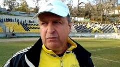 Юри Васев : Не подкрепям протестите на футболистите в Миньор (Пк)