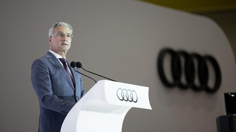 Изпълнителният директор на Audi Руперт Щадлер е задържан от германските