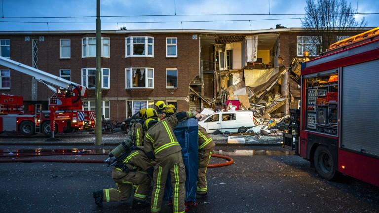 Най-малко девет души са били ранени при взрив на газ