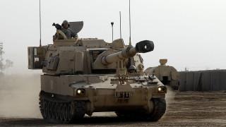 В Германия спряха конвой с американски гаубици, идващи от Полша