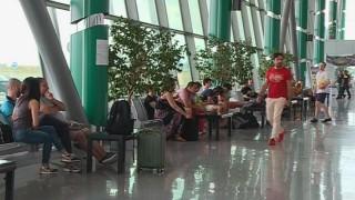 Мълния блокира пътници на летище Пловдив