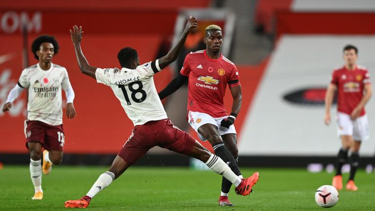 Манчестър Юнайтед ще бъде без Пол Погба в неделното гостуване