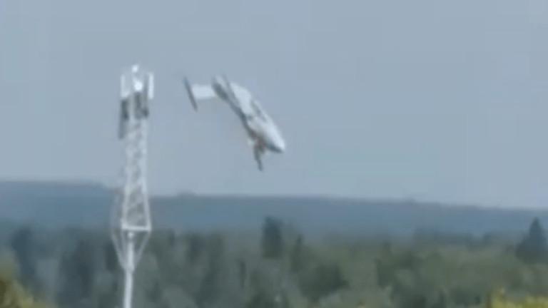 Нова версия за разбилия се в Русия военен самолет