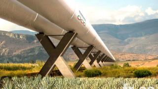 Компания от САЩ ще строи свръхзвуковия транспорт hyperloop в китайските планини