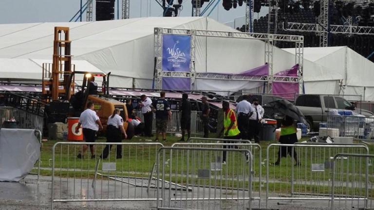 Най-малко 14 души са пострадали при инцидент на концерт на