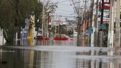 Наводнение удари Пуерто Рико