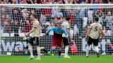 Уест Хем победи Манчестър Юнайтед с 2:0